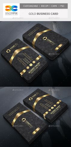 Gold Business Card - Corporate Business Cards Download here : https://graphicriver.net/item/gold-business-card/19377477?s_rank=118&ref=Al-fatih
