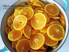 como elaborar mermelada de naranja.