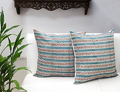 Set of 2 Cushion Covers Hand Woven in Pure Cotton Printed... https://www.amazon.co.uk/dp/B018TO318G/ref=cm_sw_r_pi_dp_E9wtxb34VBBBP