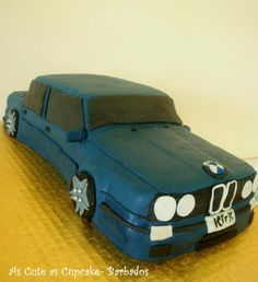 BMW cake!