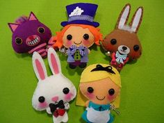 Reserved listing for Alice in Wonderland, The three pigs and Goldilocks and the three bears Christmas ornaments