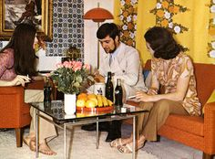 70s Decorating Style decorative art - arranging the visual information of the world