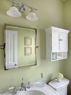 Powder Room Over Toilet Storage Design, Pictures, Remodel, Decor and Ideas - page 8