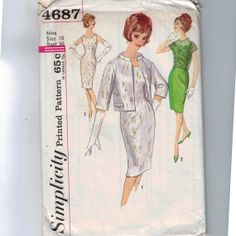 1960s Vintage Sewing Pattern Simplicity by historicallypatterns, $12.00