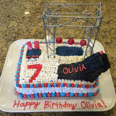 ninja warrior cake ideas