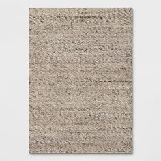 Cream Chunky Knit Wool Area Rug 5'x7' - Project 62™ : Target