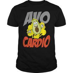 Get yours nice Fitness Workout Tee Avocado Avo Cardio Exercise Shirts & Hoodies.  #gift, #idea, #photo, #image, #hoodie, #shirt, #christmas
