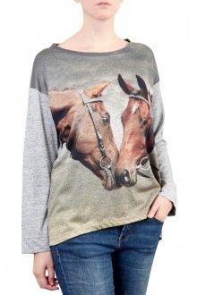 Comprar blusa-quadrada-feminina-inverno-estampa-cavalo-puro-sangue-usenatureza