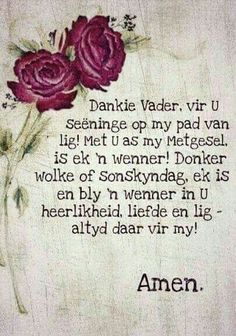 God bless you Becky. Afrikaanse Quotes, Inspirational Qoutes, Motivational, Prayer Board, Religious Quotes, Faith In God, Spiritual Inspiration, Positive Thoughts, Christian Quotes