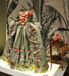Madame de Pompadour dress, created for Hillwood's exhibition. Based on a portrait by François Boucher.