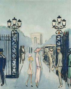 Kees van Dongen (1877-1968) La Porte Dauphine, 1924-25