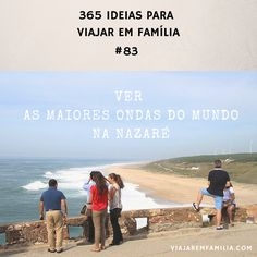 Ver as maiores ondas do mundo na Nazaré