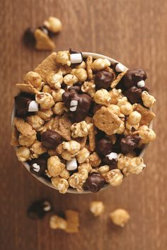 Moose Munch S'mores flavor. So good, no camping required.