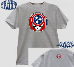 Tennessee Steal Your Flag State Grateful Dead style Lot by ZavaJam, $16.99