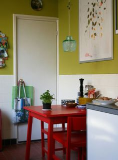 kitchen wall colour