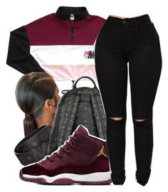 Spiteful|PND by maiyaxbabyyy on Polyvore featuring polyvore fashion style MCM clothing