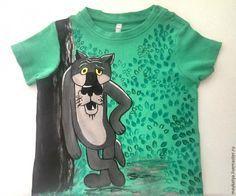 Расписываем детскую футболку - Ярмарка Мастеров - ручная работа, handmade