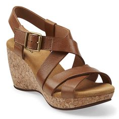 f3859cf5fe79 clarks harwich cast wedges- insanely comfortable and i like the look Spring  Sandals