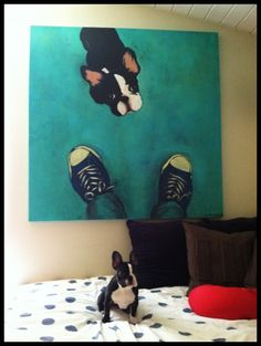Even though this is a French Bulldog..... I need a portrait of Zoey like this!!