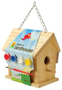 Toysmith Paint-a-Birdhouse Kit $12.29 (save $7.66)