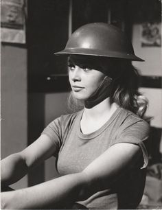 "Brigitte Bardot on the set of ""Babette goes to war"", 1959"