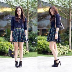 Chicwish Skirt, Salvatore Ferragamo Belt