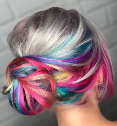 """9,226 Likes, 83 Comments - Pulp Riot Hair Color (@pulpriothair) on Instagram: """"So vibrant! @hairbykellye is the artist... Pulp Riot is the paint."""""""