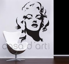 Wall-Decals.eu: Marilyn Monroe