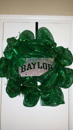 Green out Baylor Deco