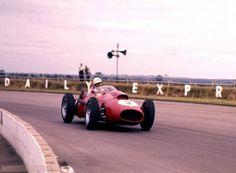 1958 GP Wielkiej Brytanii (Wolfgang von Trips) Ferrari Dino 246