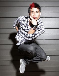 Victor Kim, my inspiration and Quest Crew crush. He can dance, sing, play the guitar/ukulele/piano/drums, draw, skateboard, surf, he has his own shoe line, recently released an album, and most importantly... he is unbelievably humble. *heart flutters* :)