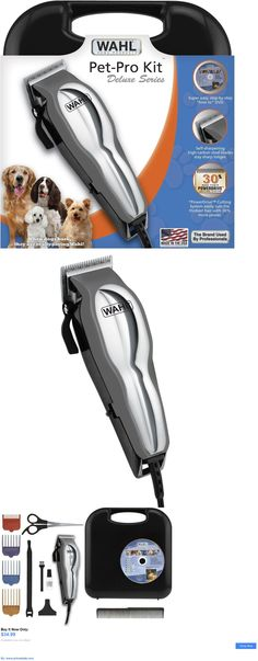 Pet Supplies: Wahl Pet Grooming Pro Kit Electric Hair Shears Clipper Dog Cat Trimmer BUY IT NOW ONLY: $34.99 #priceabatePetSupplies OR #priceabate