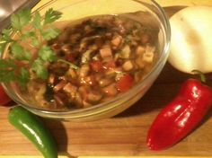 Mexican Bean Soup from Food.com:   								This is an amazing authentic mexican recipe past down 3 generations
