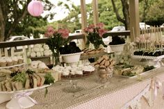 shabby-chic 21st---gorgeous afternoon tea party!