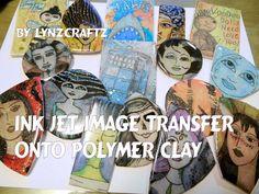 This is a simple method to transfer an image onto polymer clay using an ink jet printer image on plain copy paper. While not perfect it will give you accepta...