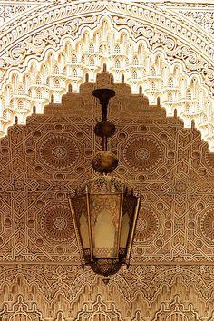 Islamic Plasterwork - by Ralph Ledergerber, Adelaide,  Australia