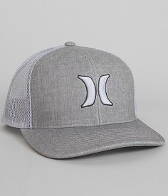 Hurley Harbor 110 Trucker Hat - Men's Hats in Grey Mist Hurley Caps, Snapback, Mens Trucker Hat, Men's Hats, Cool Hats, Hats For Men, New Outfits, Baseball Cap, Winter Hats