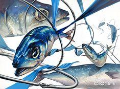 고등어 리본 금속링 Art And Illustration, Composition Drawing, Drawn Fish, Sketching Techniques, Principles Of Design, 3d Artwork, Art Hoe, Fish Art, Designs To Draw