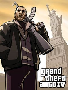 The main storyline of Niko chasing the treacherous guy was super cliché but the supporting characters like Jacob, Mallory, Roman, Kate, and Packie made the storyline bearable. Overall still a fun installment of the GTA series -Johnny Grand Theft Auto 4, Grand Theft Auto Series, Game Gta V, Real Gangster, Gta San Andreas, Fallout New Vegas, Fallout 3, Sea Wallpaper, Gta 5 Online