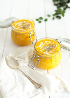 Cream of Pumpkin and Apple Soup. This subtly sweet and spicy pumpkin and apple soup is a must-have for autumn. It's a simple creamy and comforting dish for a colder day. Fall Recipes, Whole Food Recipes, Soup Recipes, Cooking Recipes, Vegetarian Recipes, Shrimp Recipes, Cooking Tips, Apple Soup, Pumpkin Soup