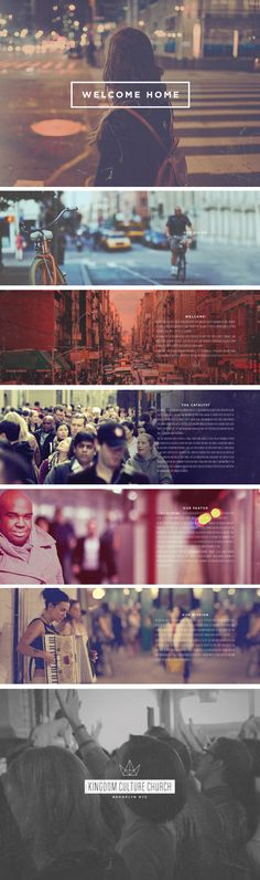 Kingdom Culture Church Brooklyn by Number Ninety Two Studio , via Behance
