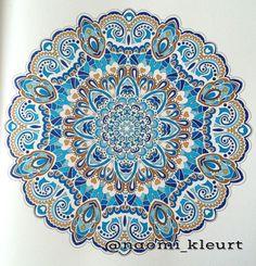 Het enige echte mandala kleurboek, stabilo, mandala, colouring for adults, coloriage, kleuren voor volwassenen