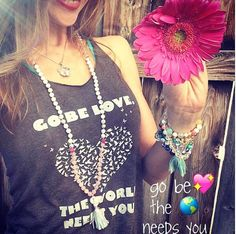 Go Be Love. The World Needs You. ~ Feeling the Love with the #payit4WORD2016 challenge❣ #SuperLoveTribe