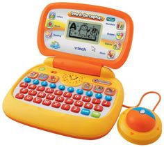 VTech - Tote Go Laptop with Web Connect - - Play just like the grown-ups and connect online with the Vtech Tote & Go Laptop. Your child can play one of 20 learning activities that teach Learning Toys, Preschool Learning, Learning Activities, Baby Learning, Toddler Toys, Baby Toys, Kids Toys, Toddler Girls, Baby Baby