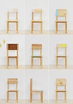 Des chaises et des tables pour les enfants