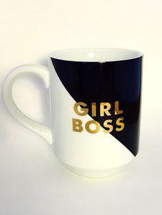 Girl Boss Mug - Who runs the world, GIRLS.  GIRL BOSS