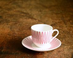 mid-century cup & saucer