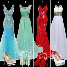 Elegant dress for elegant lady! #PromDress #PartyDress #Shoes #Fashion #FreshFashion
