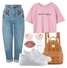 """""""Still Here // Drake"""" by champagnayegang ❤ liked on Polyvore featuring Miss Selfridge, MANGO, MCM, NIKE, Forever 21 and Mattia Cielo"""