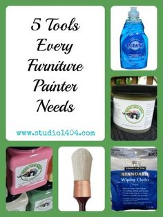 5 Tools Every Furniture Painter Needs!